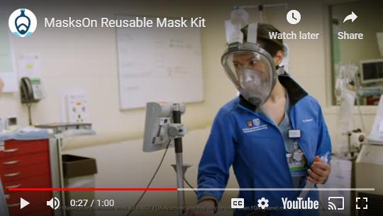 Masks On YouTube video